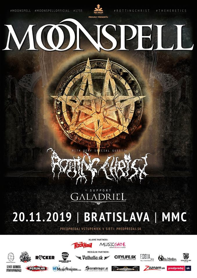 MOONSPELL a ROTTING CHRIST na Slovensku