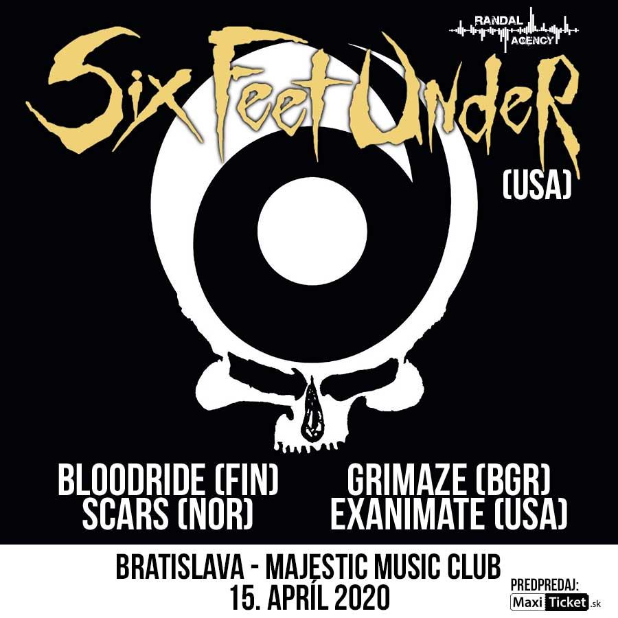 SIX FEET UNDER v Bratislave