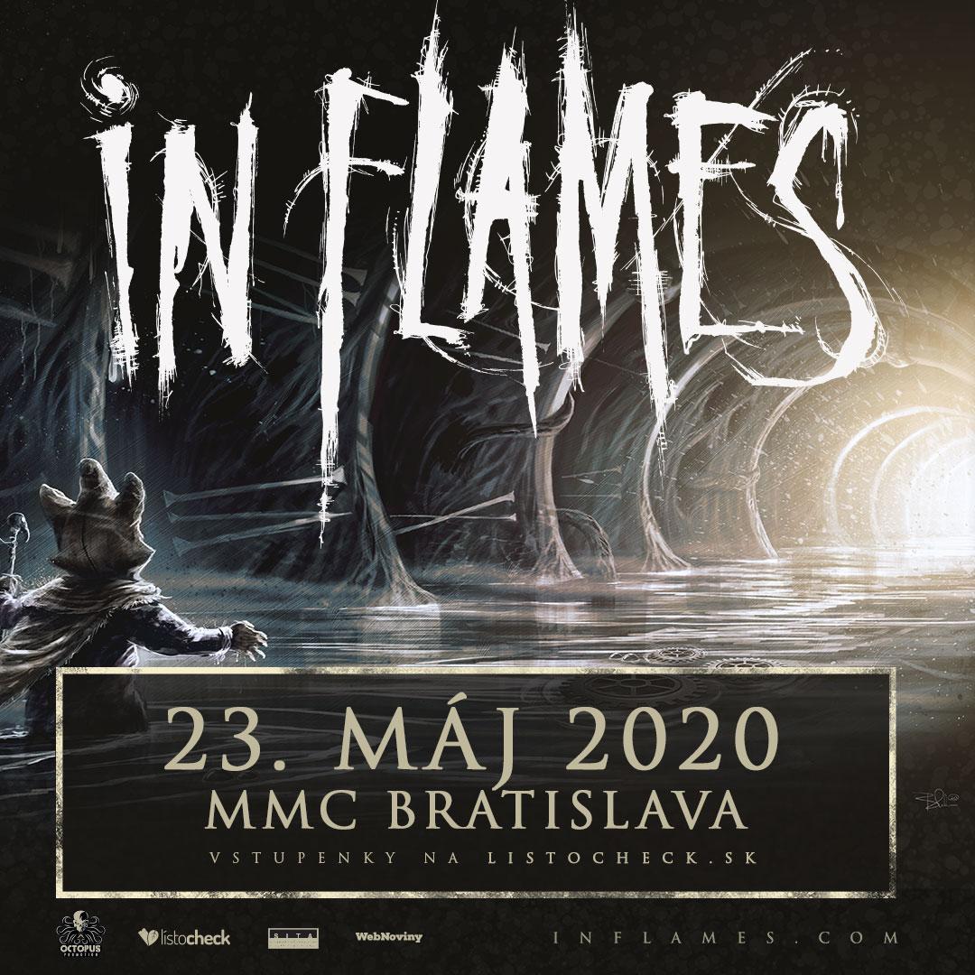 IN FLAMES v Bratislave