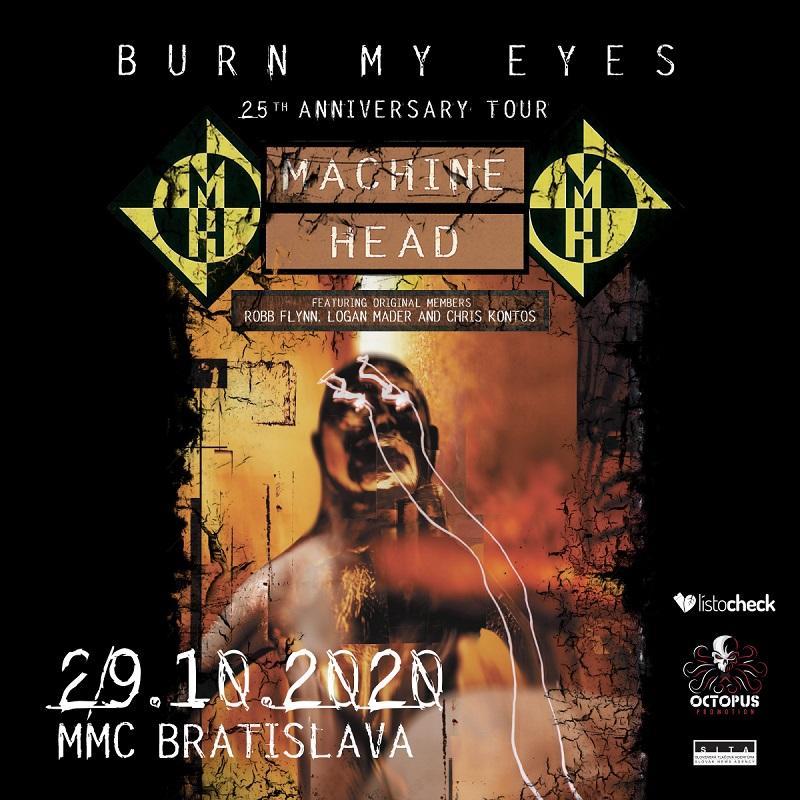MACHINE HEAD v Bratislave