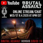 Čo s aktuálnym ročníkom Brutal Assaultu? Festival chystá zajtra online chat s fanúšikmi a médiami