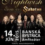 NIGHTWISH, SABATON a hostia v Banskej Bystrici: V predaji posledné lístky plus ďalšie dôležité informácie!
