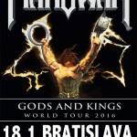 MANOWAR vystúpia v Bratislave o 3 mesiace: Pozrite si upútavku na ich prvý koncert na Slovensku