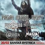 Pagan Metal Night v Banskej Bystrici: Pod Urpín zamieria Rusi WELICORUSS a Poliaci NETHERFELL