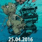 Jarná edícia turné Never Say Die! zavíta do Prahy: Headlinermi EMMURE, NORTHLANE a DESPISED ICON