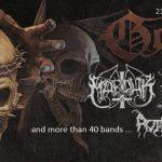 Festival Gothoom zverejnil program: Pozrite, kedy hrajú MARDUK alebo NAPALM DEATH