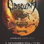 V Košiciach sa splní sen fanúšikom technického death metalu: Na Slovensko sa vrátia Nemci OBSCURA
