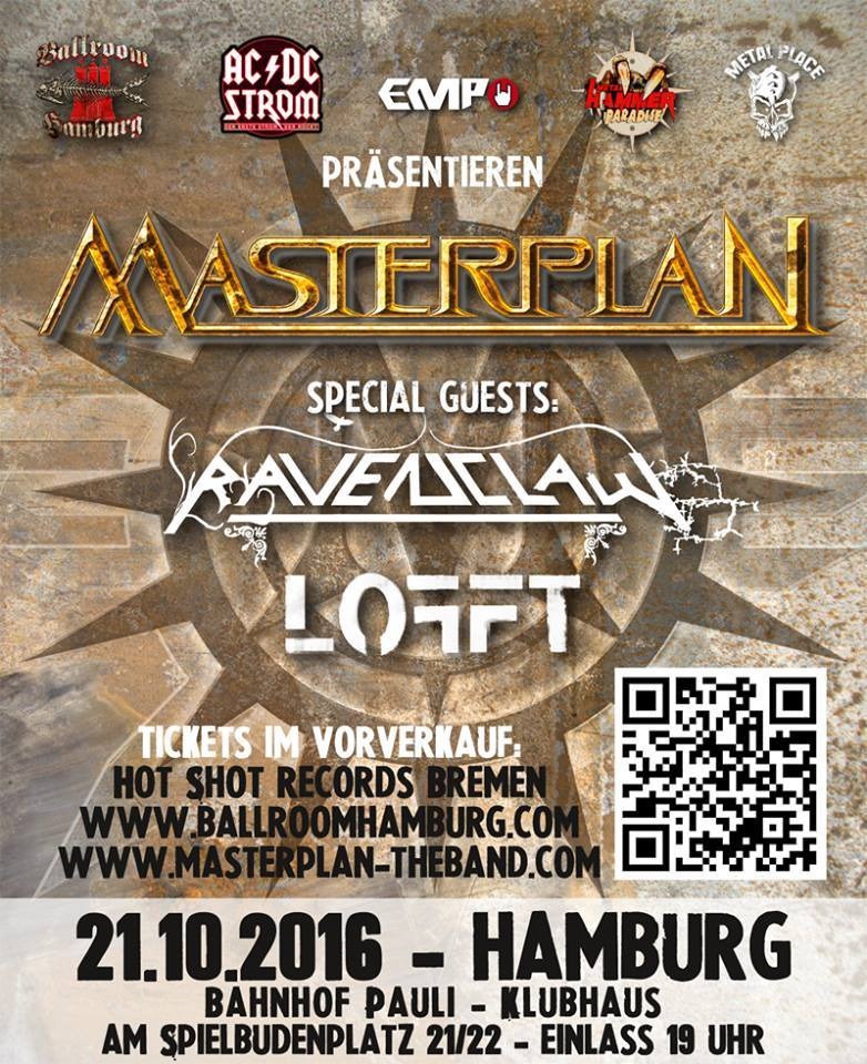 Plagát ku koncertu v Hamburgu