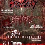 Death metal v najkrvavejšej forme: V Trnave vystúpia CRANIOTOMY, DYSANCHELY pokrstia novinku