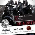 Intenzívny mix metalu, do Bratislavy prídu štyri zaujímavé kapely na čele s FRANTIC AMBER zo Švédska