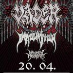 Death metalové legendy VADER a IMMOLATION skántria Košice