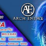 ARCH ENEMY si pokoria festivalovú Európu, nebude chýbať ani Rock pod Kameňom