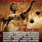 Koniec augusta už tradične v znamení Fekal Party: Headlinermi SCHIRENC PLAYS PUNGENT STENCH či BIRDFLESH
