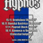 České stálice HYPNOS sa v rámci slovenského turné zastavia aj v Banskej Bystrici