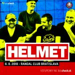 Kapela zmenila rockovú hudbu. O dva týždne sa HELMET predstavia v Bratislave