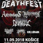Tretí Cassovia Death Fest privíta poriadnu porciu death metalových bánd