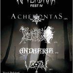 Nitriansky Afterdark Fest prinesie okultných blackáčov ACHERONTAS a INFERNO