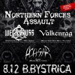 WELICORUSS a VALKENRAG zakončia turné v Banskej Bystrici, predstavia nové hymny
