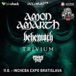 Jedinečné koncertné spojenie: AMON AMARTH, BEHEMOTH a TRIVIUM spoločne v Bratislave!
