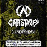 Slovenský metalový útok na Londýn: ČAD, CATASTROFY a SANDBRIDGE vystúpia v známom podniku