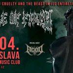 CRADLE OF FILTH oslavujú 20. výročie legendárneho albumu. Na konci apríla ho odohrajú v Bratislave