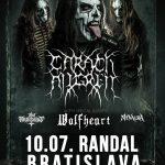 Čiernočiernu tmu prinesú v lete do Bratislavy CARACH ANGREN