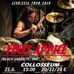 Legendárny bubeník Vinny Appice zahrá v Nitre a Košiciach