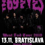 THE 69 EYES na svojom rozlúčkovom turné neobídu ani Slovensko