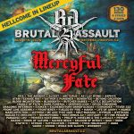 MERCYFUL FATE s Kingom Diamondom v čele vystúpia na Brutal Assaulte. TESTAMENT v apríli s novým albumom