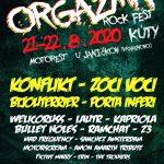 V auguste sa fanúšikovia môžu tešiť na dvojdňový festival ORgazma Rock Fest