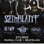 Prvý koncert Brazílčanov SEMBLANT na Slovensku sa presunul na február 2022